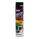 SPRAY COLORGIN DECOR PR BRILH 360ML 8701
