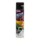 SPRAY COLORGIN DECOR PR FOSCO 360ML 8711