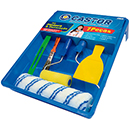 KIT P/PINTURA CASTOR CLEAN C/7PC 807