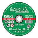 DISCO CORTE ITAMBE FERRO  7X7/8 CAE-2T