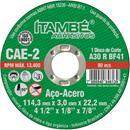 DISCO CORTE ITAMBE FERRO B 4.1/2X7/8 2T