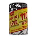 LONA PRETA 4X110  MEDIA 20KG LONAX