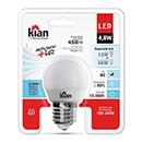 LAMP LED BOLINHA 4,8W 6500K KIAN