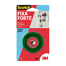 FITA DUPLA-FACE 3M FORTE TRANSP.12MMX2MT